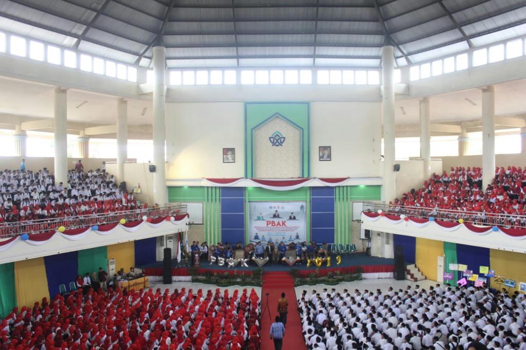 3.170 Mahasiswa Baru UIN Sultan Thaha Saifuddin Jambi Ikuti PBAK